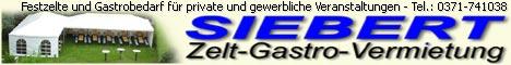 Zelt-Gastro-Vermietung Siebert 09127 Chemnitz